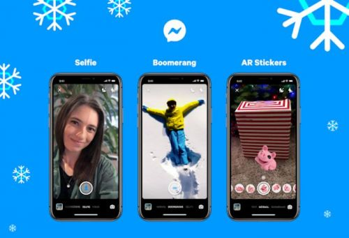 Facebook Messenger Now Has Boomerang And Selfie Mode