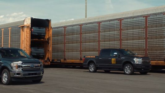 Ford's electric truck prototype can tow 500 tons