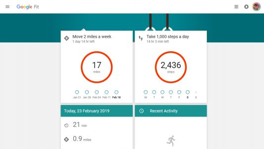 Google Fit is closing its website to focus on the apps