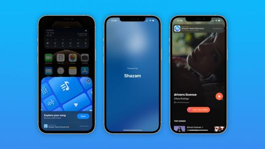 Built-in Shazam music recognition is now an App Clip in iOS 14.6