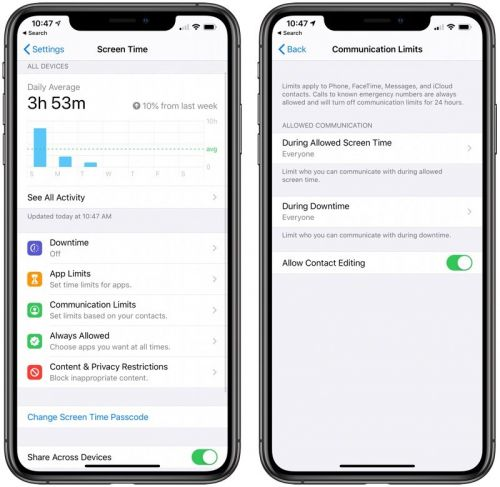 Apple Working on Fix for Screen Time Communication Limits Workaround Exploited by Kids
