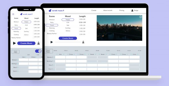 AI-powered music generator Ecrett builds complex compositions for your videos