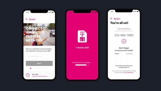T-Mobile's app-based eSIM service launching on iPhone by the end of the year, report says