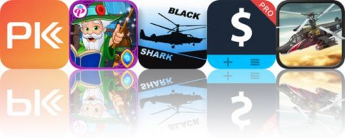 Today's Apps Gone Free: PK Fitness, My Little Princess: Wizard, Black Shark and More
