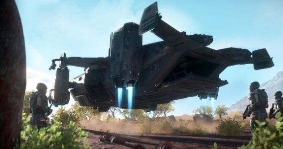 Star Citizen Alpha 3.6: Hover ships, space stations, and the law warp in