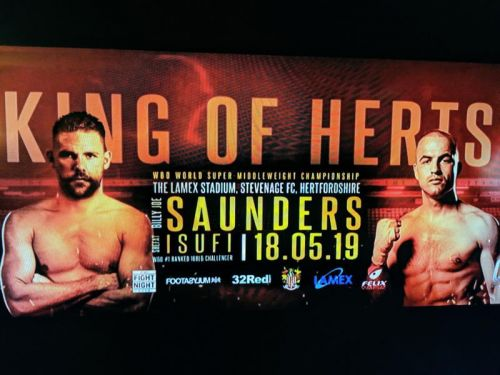 How to stream Saunders vs. Isufi on May 18 in the USA