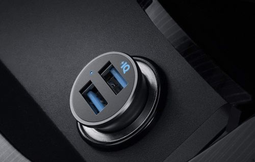 This Dual-Port Fast Charging Car Charger Is Only $8