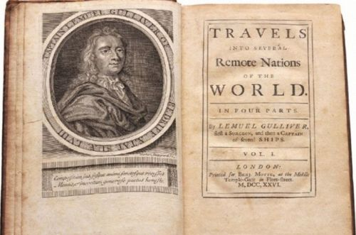 Intrepid scientist corrects physiology in Gulliver's Travels after 300 years