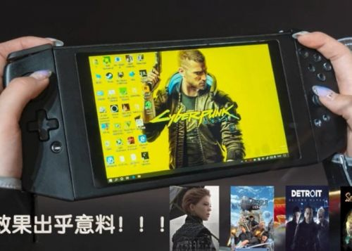 Aya Neo handheld gaming PC prototypes teased
