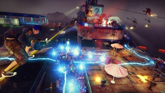 Sunset Overdrive review: Ride the rails to kaboom-town