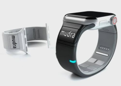 Add gesture control to your Apple watch band using Mudra