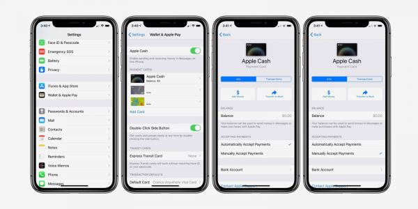 Apple Cash: How to require manual acceptance for payments