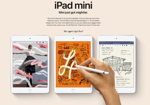 Apple Gives the New iPad Mini a Bigger Than Expected Bump