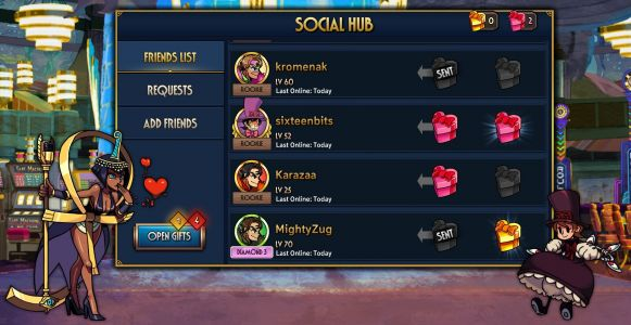 'Skullgirls' on Mobile Version 4.1 Update Brings New Social Hub, New Fighters, Holiday Events, and More