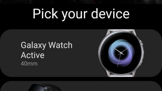 Samsung outs Galaxy Watch Active, Fit e and Galaxy Buds in own app