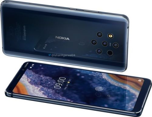 Nokia 9 PureView Renders Leave Little To The Imagination