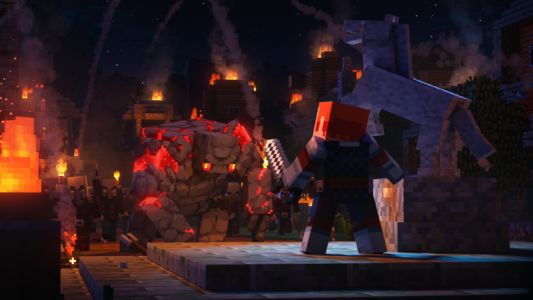 Minecraft Dungeons review: A smashing good Diablo clone for any age