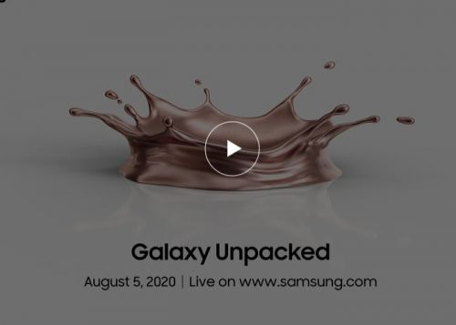 Tomorrows Samsung Galaxy Unpacked August 2020 event teased