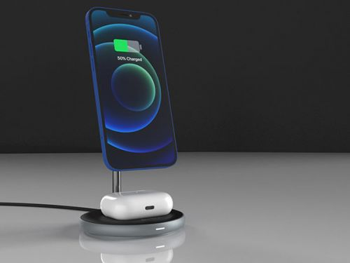 Deals: OMNIA M2 Magnetic 2-in-1 Wireless Charging Dock with Power Adapter