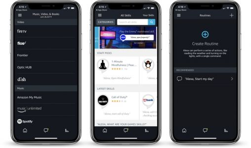 Amazon's Alexa App Finally Gains Support for iPhone X
