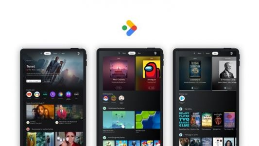 Google Android tablets get new Entertainment Space