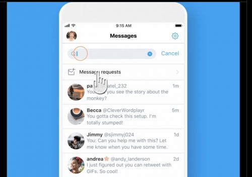 Twitter finally gives DMs on Android a search tool