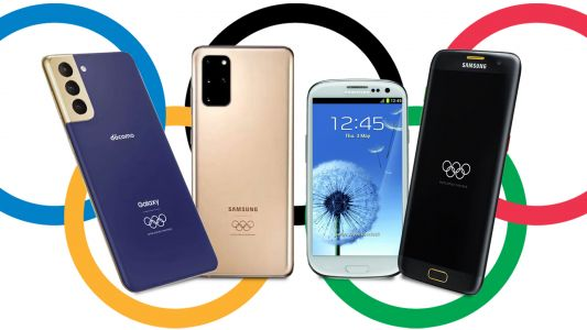 Samsung phones at the Olympics: 20 years of sports-themed smartphones