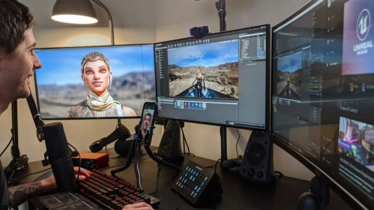 Unreal's new iPhone app does live motion capture with Face ID sensors