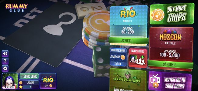 BetaWatch - A Quick Look at a Few Up and Coming Games in Beta: 'Rummy Club', 'Meat Cannon Golf', 'Ghost Tappers' and 'Make Squares'