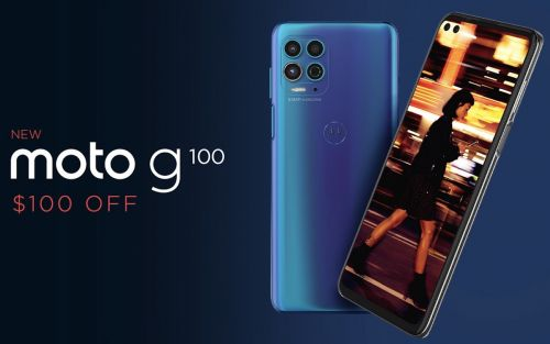 Moto G100 now available in the US, ready with a special discount