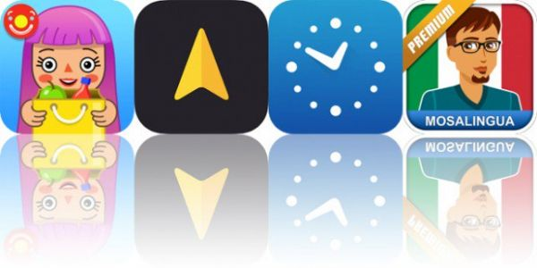 Today's Apps Gone Free: Pepi Super Stores, Anchor Pointer, TimeClock and More