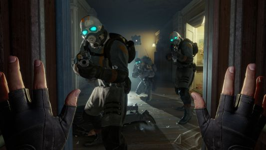 This is what it looks like to play Half-Life: Alyx without VR - and a mod could be coming soon