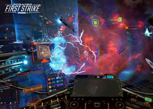Scraper First Strike VR launches on Steam and PSVR November 21st