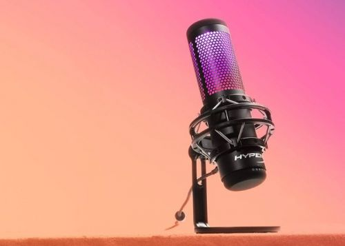 HyperX QuadCast S USB microphone launches with RGB, three 14 mm condensers and more