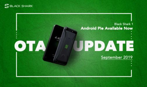 Black Shark 1 Gaming Phone Receives Android Pie Update