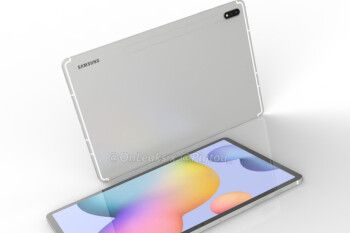 Leaked press render shows off one of Samsung's upcoming high-end tablets
