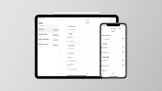 Spend Stack for iOS lets you easily track any running totals with smart lists