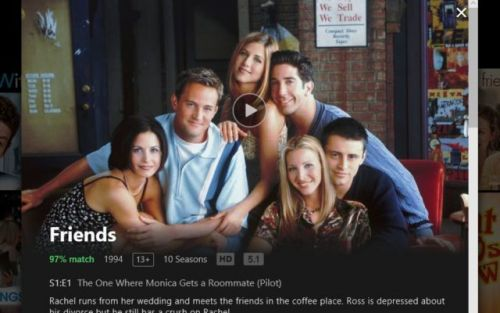 Friends May Not Stream On Netflix In The Future