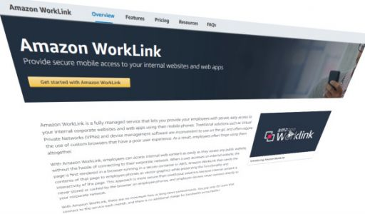 Amazon's AWS launches WorkLink for secure and easier mobile intranet access from mobile phones