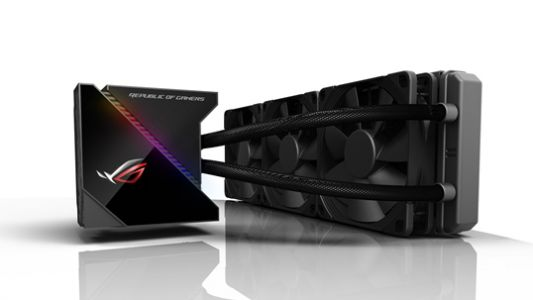 Asus introduces its first ROG liquid-coolers and power supply