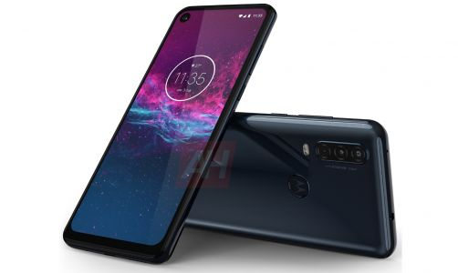 Exclusive: Motorola One Action Looks Better In Blue & With Headphone Port