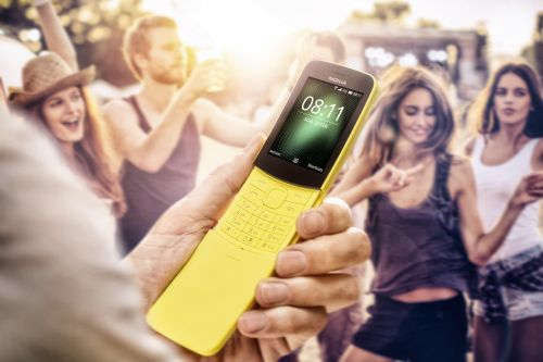 Nokia 8110 - the banana phone reloaded with 4G