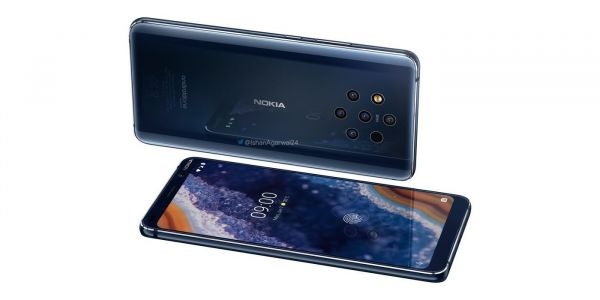 Official-looking Nokia 9 PureView renders leak w/ Android One branding, five-camera setup