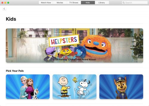 Apple Offering Curated Collections of TV Shows, Podcasts, Books, Movies and More Aimed at Families