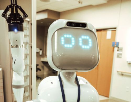 What Moxi the robot is learning from nurses in Texas