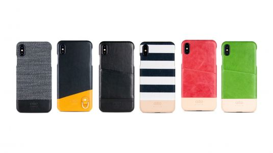 Get 15% off premium leather iPhone XR, XS and XS Max cases w/ optional laser engraving from Alto