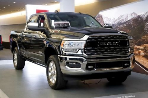 Ram is working on an electric pickup truck