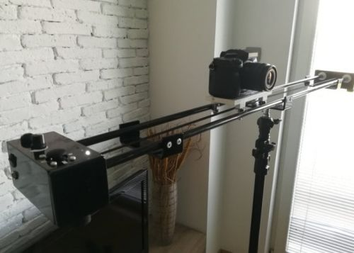 SlideBorg motorised camera slider hits Kickstarter