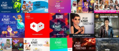 40 more game companies join WHO's PlayApartTogether coronavirus awareness campaign
