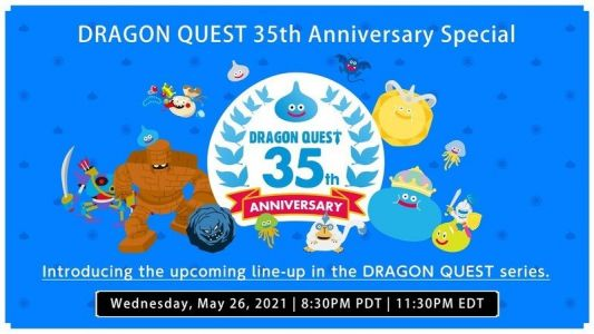 New game information will be revealed in the upcoming Dragon Quest stream!
